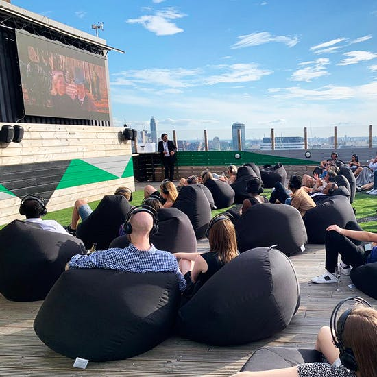Waterloo's Rooftop Cinema Offers Bottomless Drinks And ...
