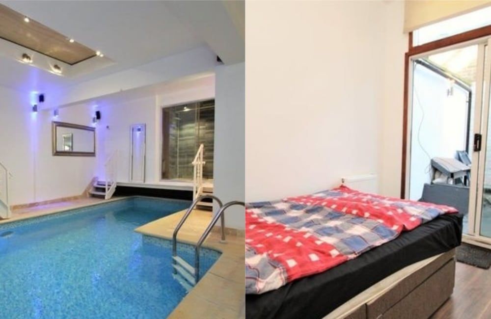 This Two-Bedroom London Flat With An Indoor Pool Is Making The Internet Lose Its Mind