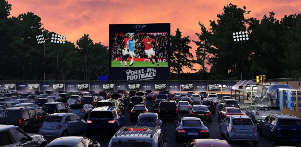 Football drive-in