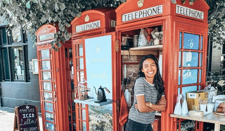 The Lovely Story Behind These Classic Red Phone Boxes Turned Coffee Shops • Amar Café