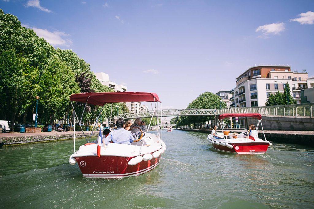 Paris floating cinema