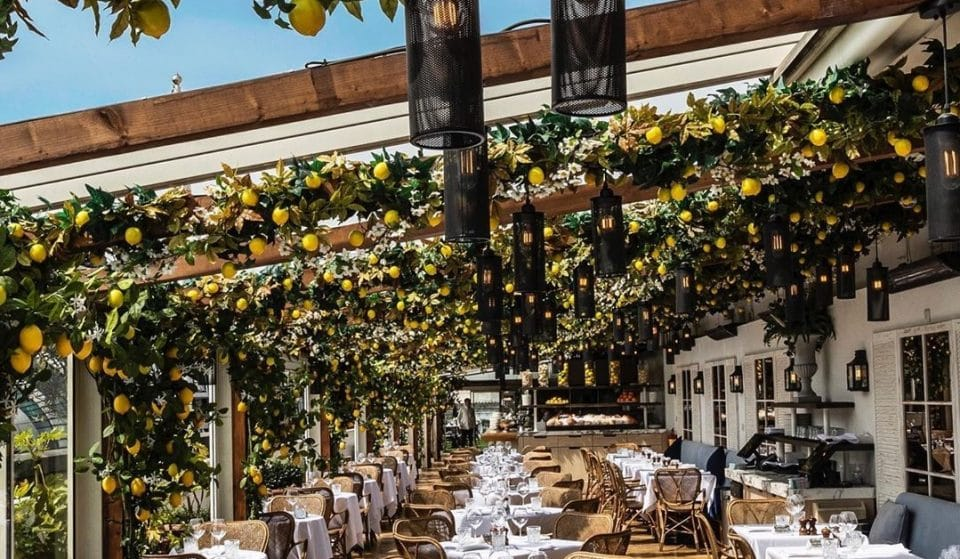 Selfridges' Glorious, Italian-Inspired Rooftop Restaurant Is Reopening For Summer • Alto