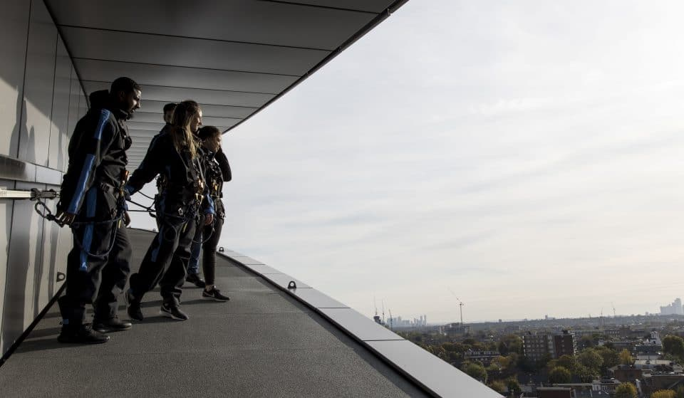 Take A Dizzying Climb Up This Football Stadium For Stunning Views Over London • The Dare Skywalk