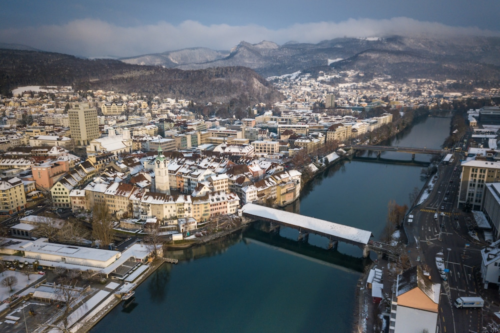 This Swiss Town Was Covered In 'Chocolate Snow' After A Malfunction At A Lindt Factory