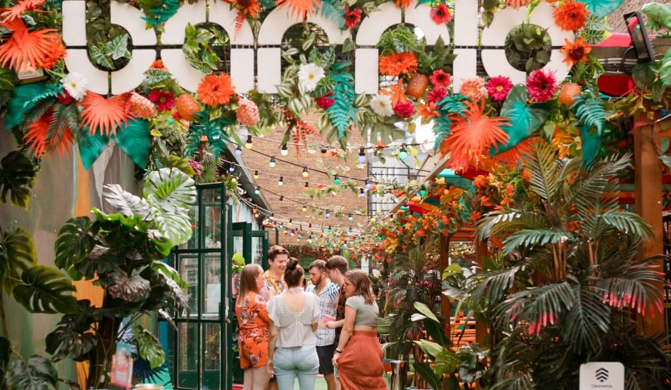 This Tropical Bottomless Brunch Is Throwing It All The Way Back To The 80s