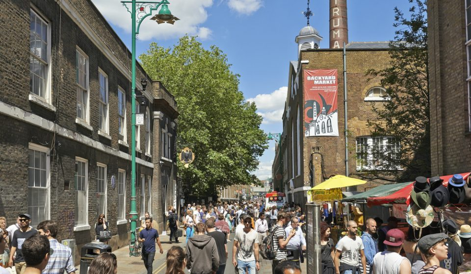 Brick Lane Will Close To Traffic At Weekends To Make Space For Visitors And Al Fresco Dining