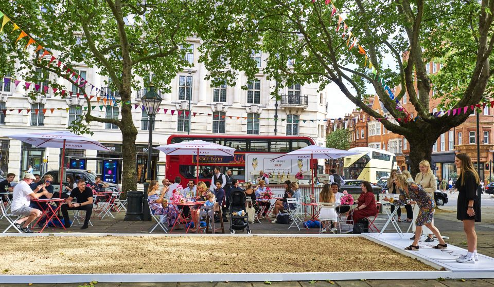 An Utterly Charmant Pétanque Court Has Popped Up In Sloane Square
