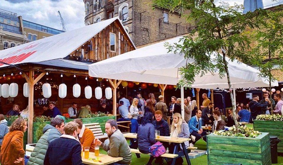 London Bridge's Fab Foodie Garden Is Reopening This Week • Flat Iron Square