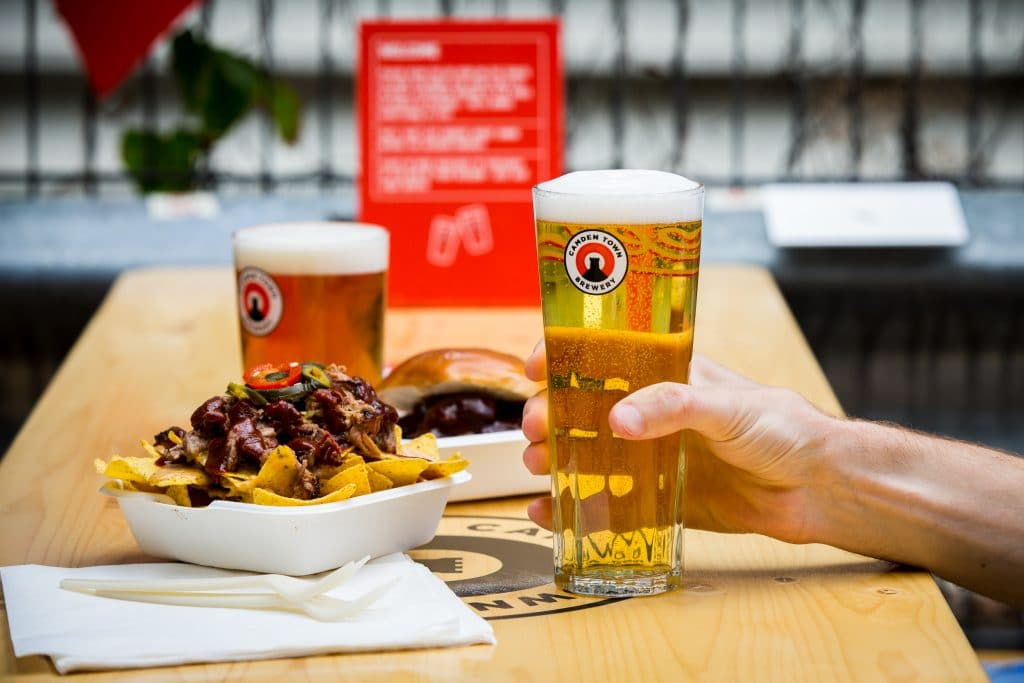 CTB Camden pop up beer garden