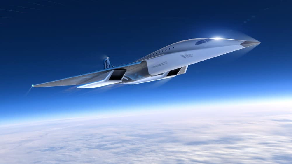 This New Supersonic Passenger Jet Could Fly From London To New York In Less Than Two Hours