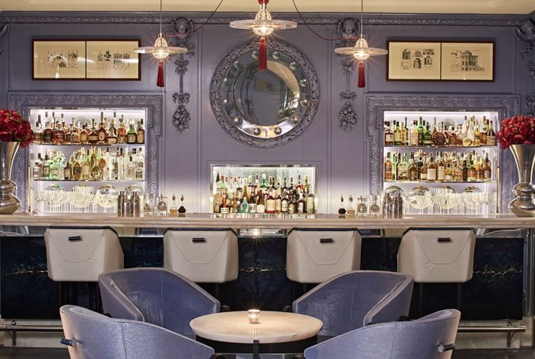 The Blue Bar at the Berkeley is one of London's prettiest bars.