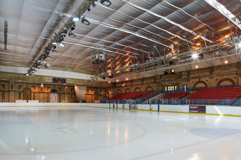 Ice rink ally pally