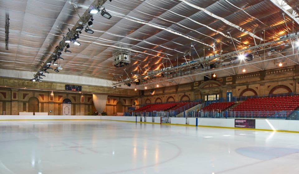 Alexandra Palace's Iconic Ice Rink Will Reopen This Week