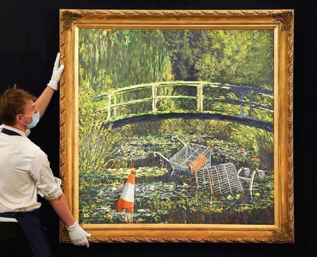 Banksy Monet