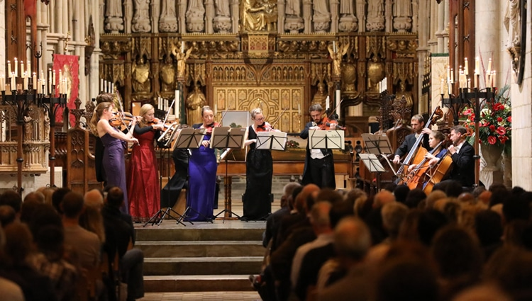 southwark cathedral candlelight concerts