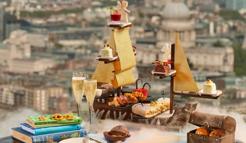 This Magical Peter Pan-Themed Afternoon Tea Will Transport You To Neverland