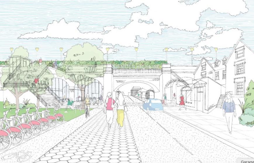 The Winning Design For Camden's NYC-Inspired Highline Has Been Revealed