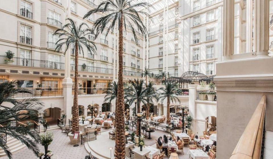 Dine Amongst Palm Trees At This Lavish London Hotel • Landmark London