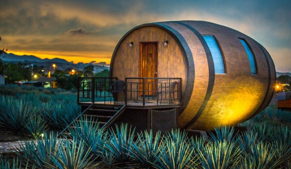 You Can Sleep In A Barrel In Mexico And Drink Tequila Straight From The Source