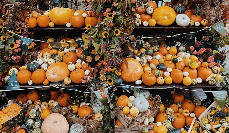 Covent Garden's Giant Pumpkin Market Is Returning Just In Time For Halloween