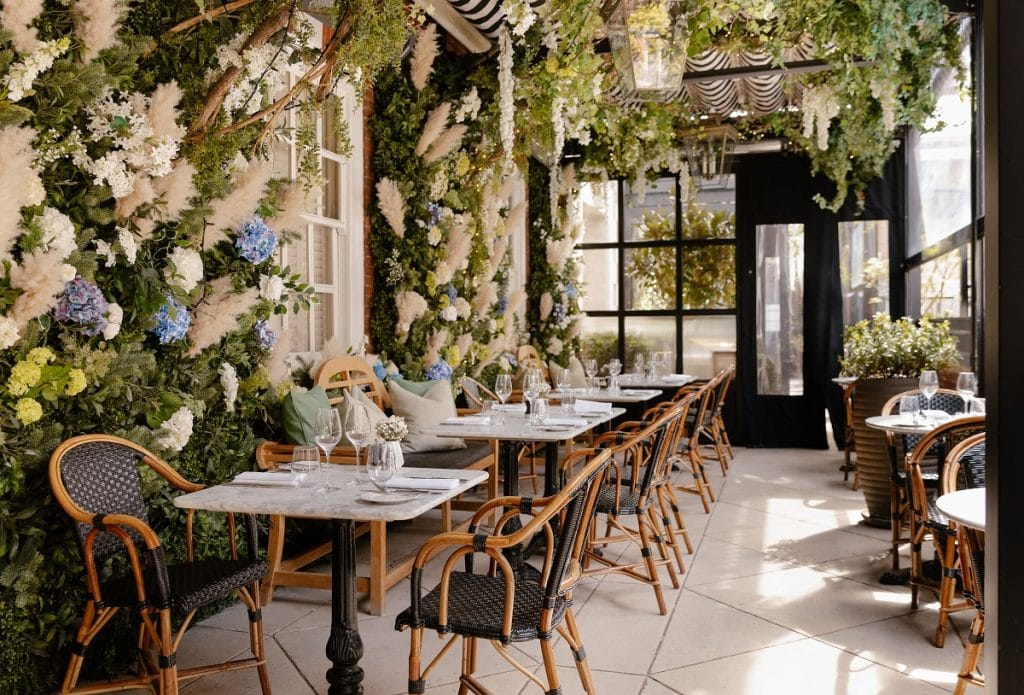 This Picture-Perfect Terrace Has Been Transformed Into A Tranquil English Garden