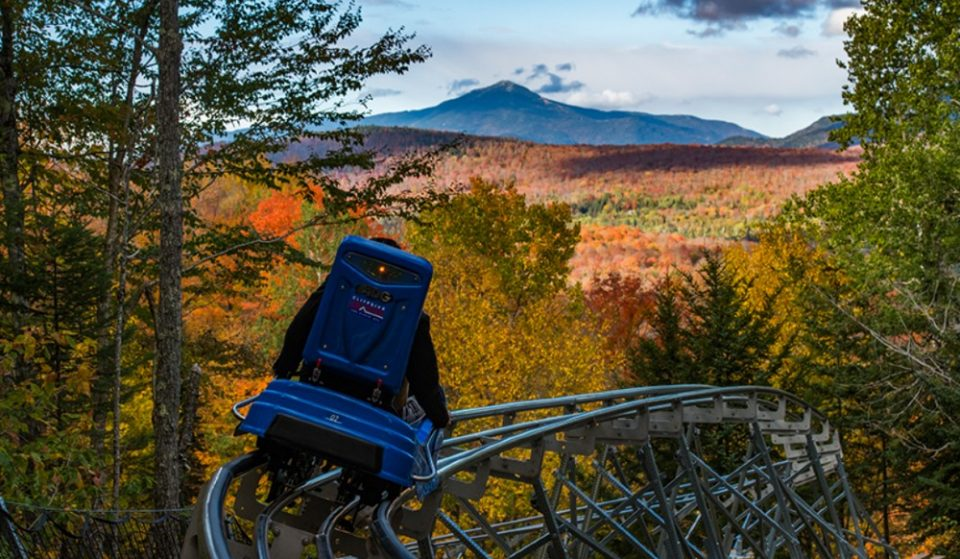 This Insanely Cool Mountain Roller Coaster Is Officially Open In New York