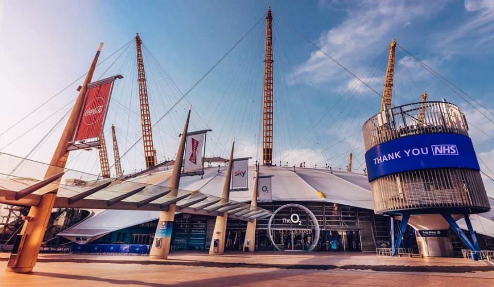 The O2 Arena Is Making A Comeback After Lockdown With These Socially Distanced Events