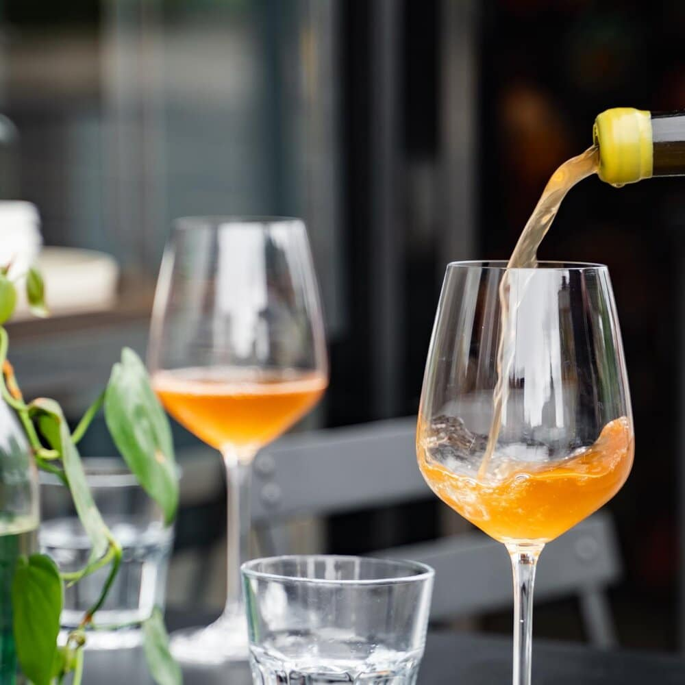 orange wine silver lining