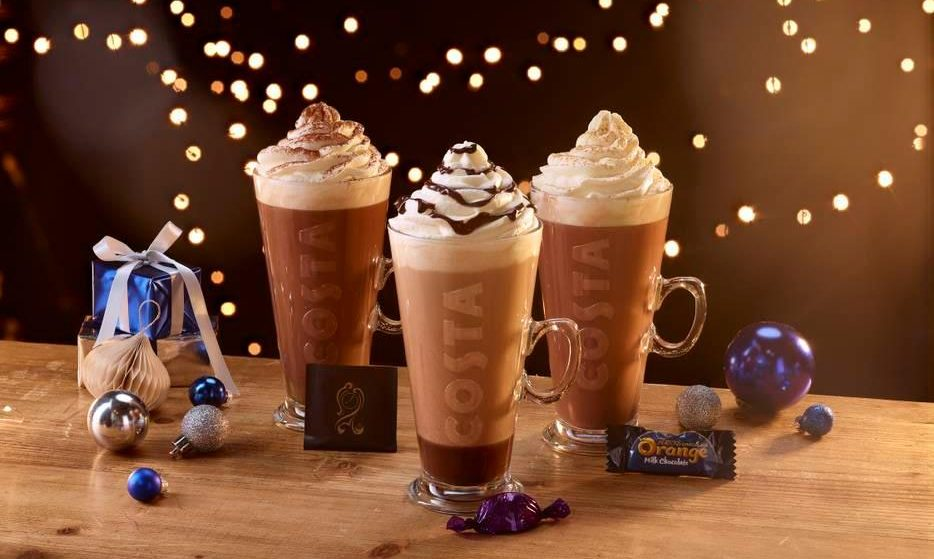Costa Will Serve Terry's Chocolate Orange And After Eight Hot Chocolates This Winter
