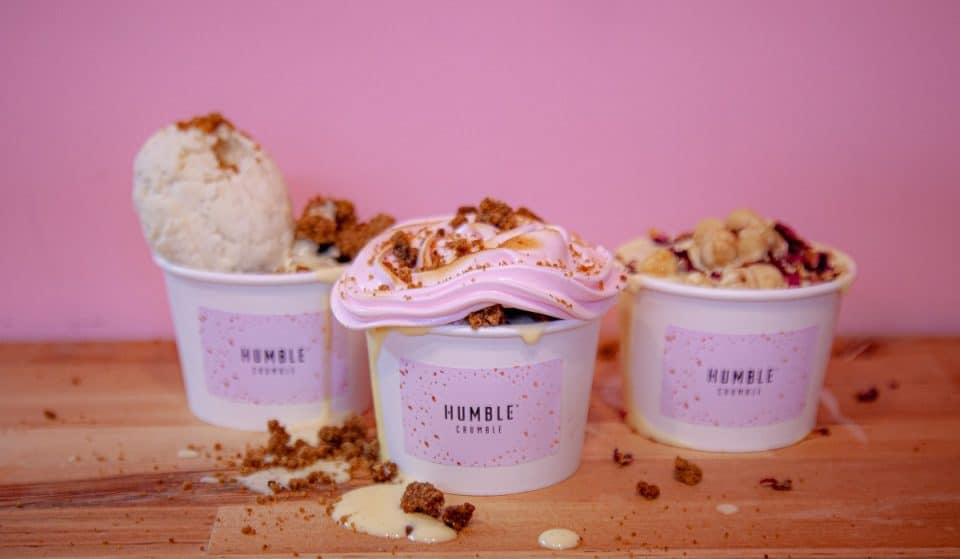 This Lovely House Of Crumble Serves Up London's Tastiest Treat • Humble Crumble