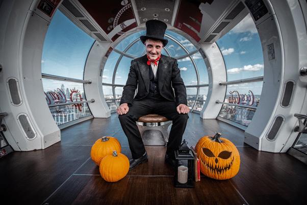 London eye pumpkin 1