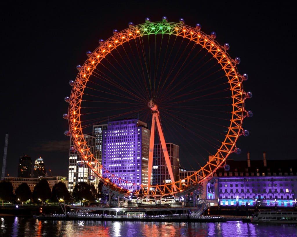 London Eye pumpkin