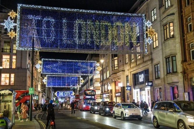 Oxford Street Christmas Lights - London