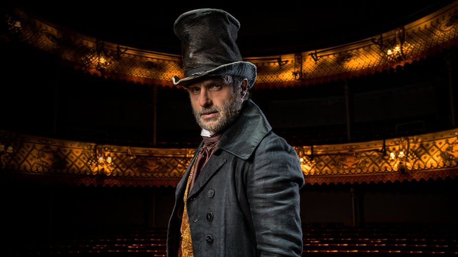 Andrew Lincoln Will Star In The Old Vic's Livestreamed 'A Christmas Carol' This December