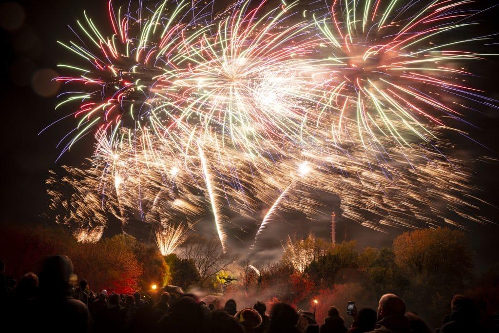 Alexandra Palace Fireworks 2