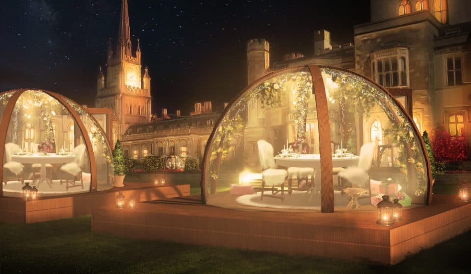 Dine Inside These Enchanted Garden Globes For A Fab Festive Treat This Christmas