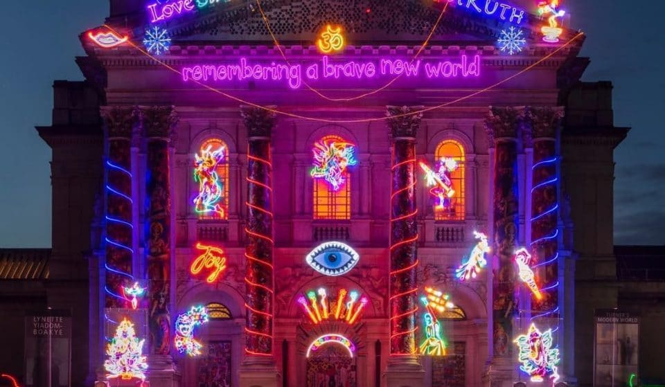 Tate Britain's Winter Commission Is A Stunning Neon Celebration Of Diwali