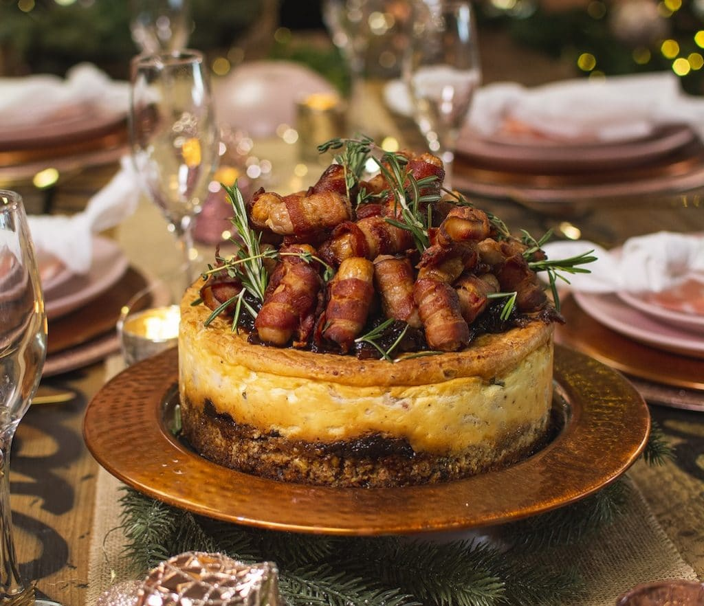 London's Cheesecake Wizards Have Created A Pigs In Blankets Cheesecake For Christmas 2020