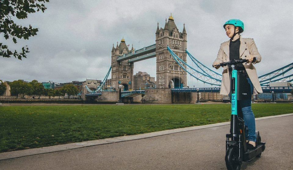 E-Scooters Are Available To Rent In London From Today