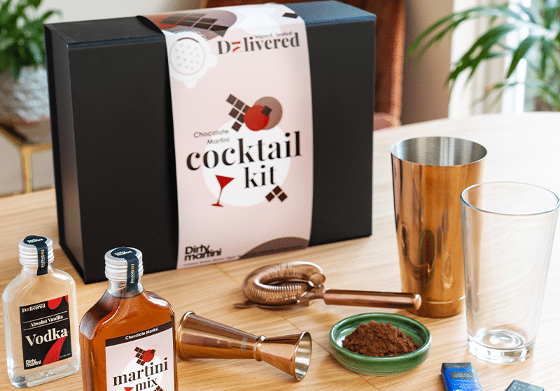 Dirty Martini Are Delivering Delicious Drinks And Cocktail Kits To Your Door