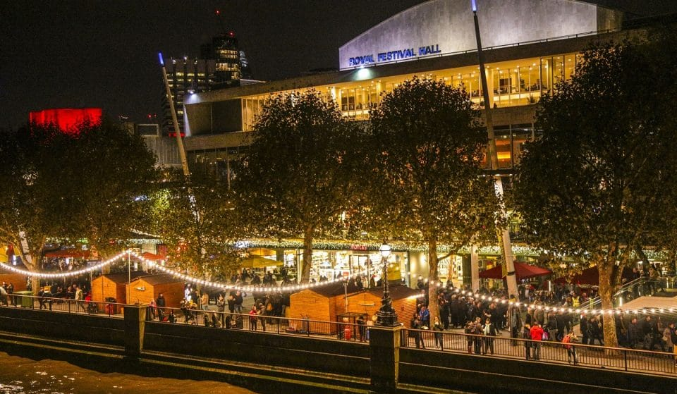 The South Bank's Fabulously Festive Christmas Market Will Return This November