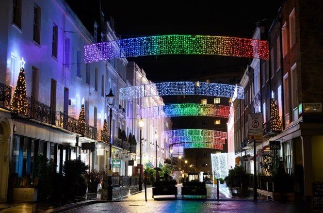 Mayfair Belgravia lights