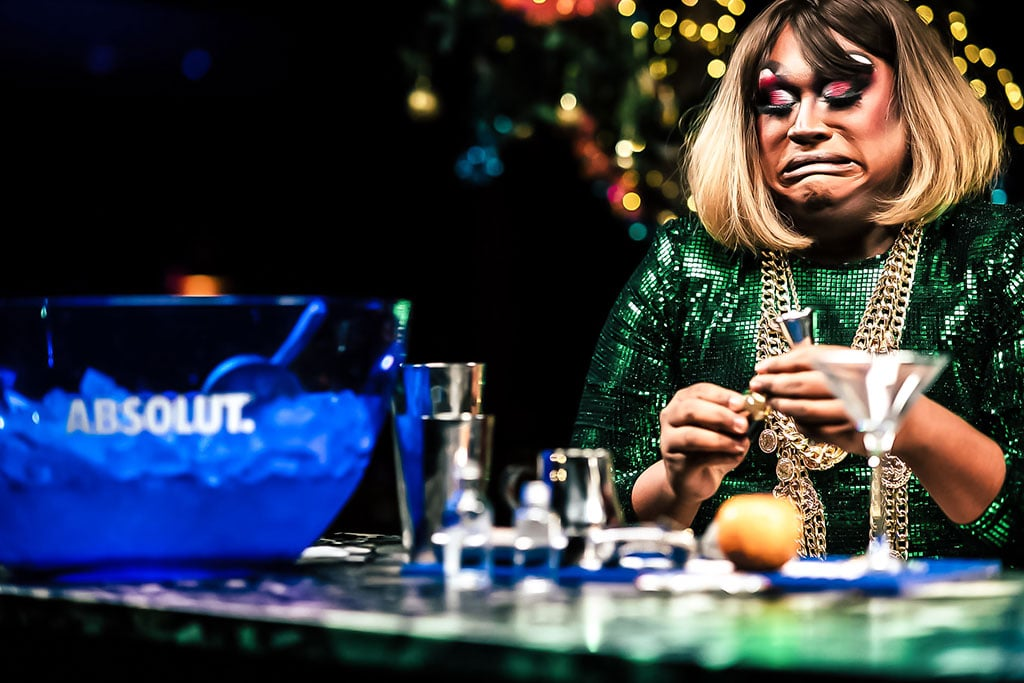 absolut drag cocktail experience