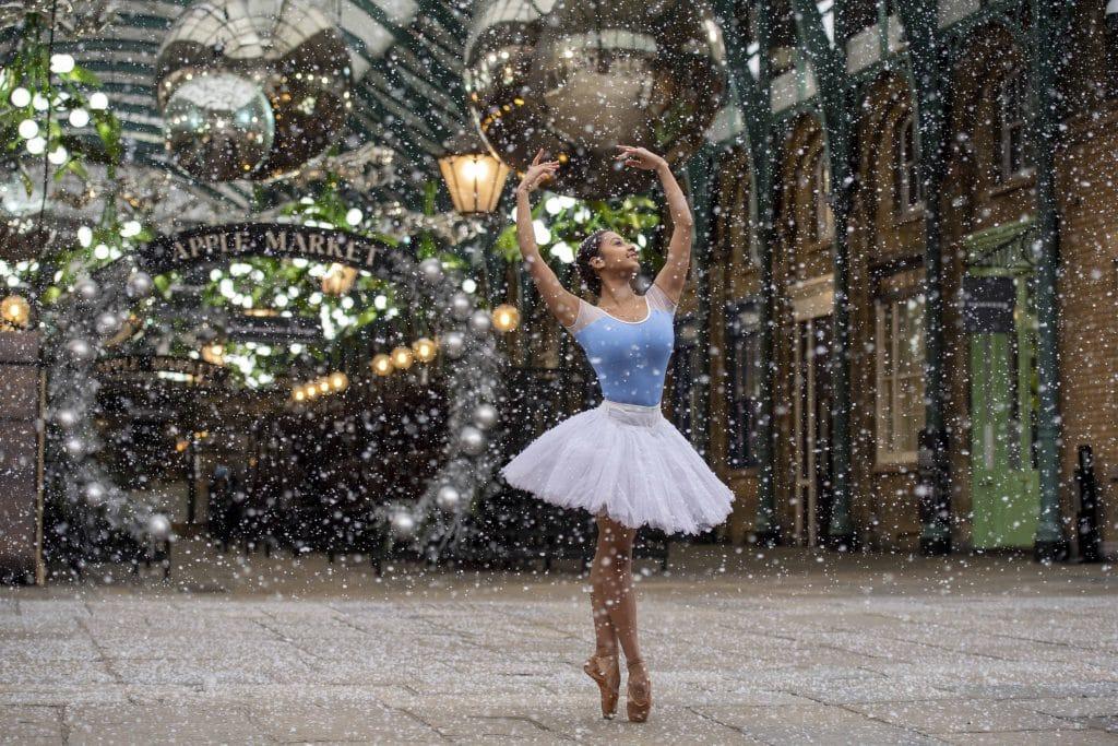 Covent Garden snow