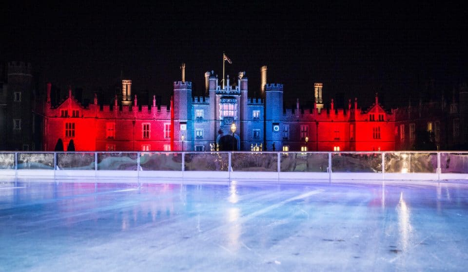 Hampton Court Palace's Enchanting Ice Rink Opens This Weekend