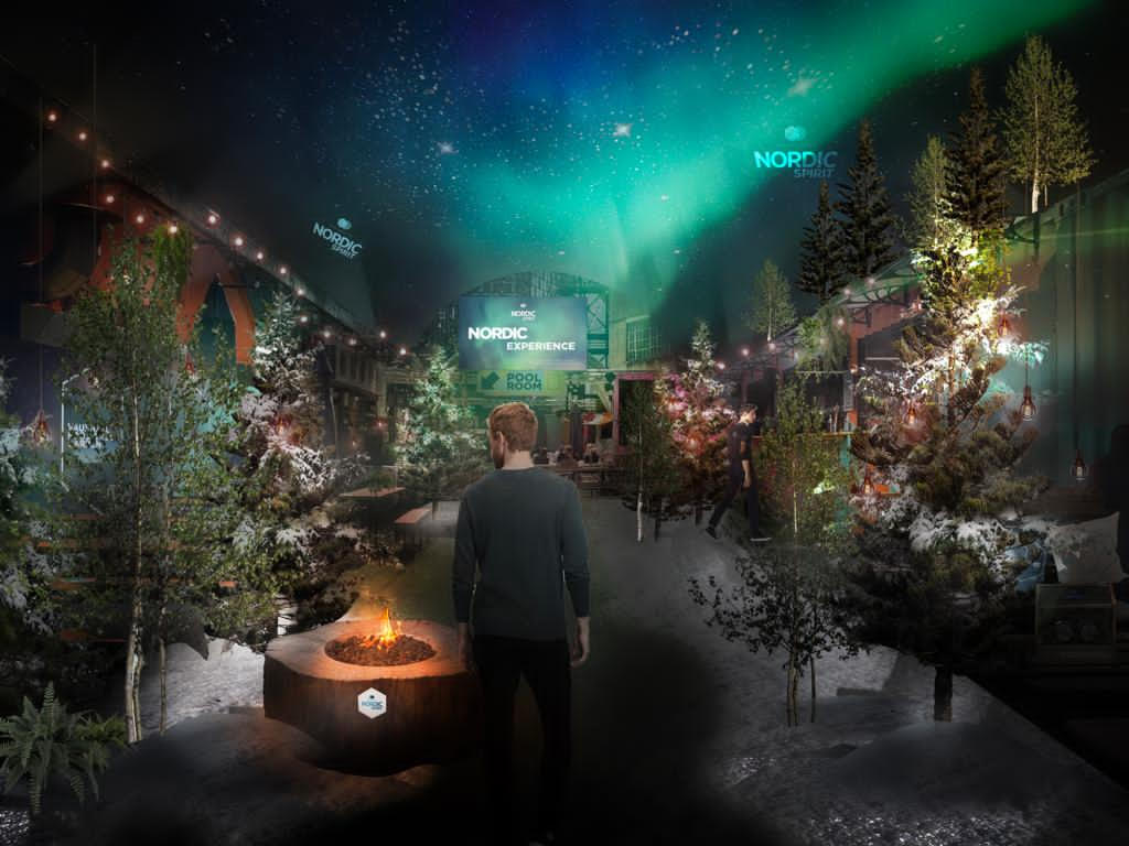 A Nordic Winter Wonderland With Northern Lights Opening This Week