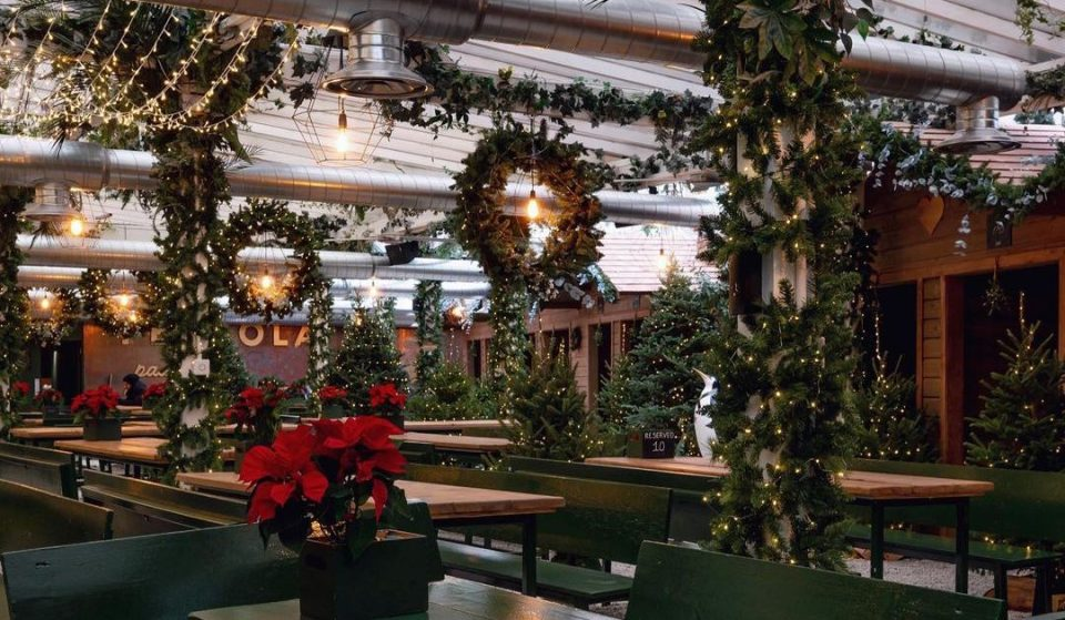 London's Rooftop Winter Forest Is Back With 200 Real Christmas Trees