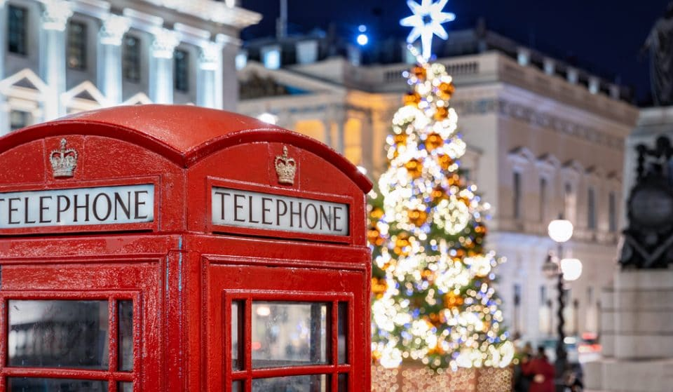 London Has Been Voted One Of The Top Ten Christmas Destinations In The World