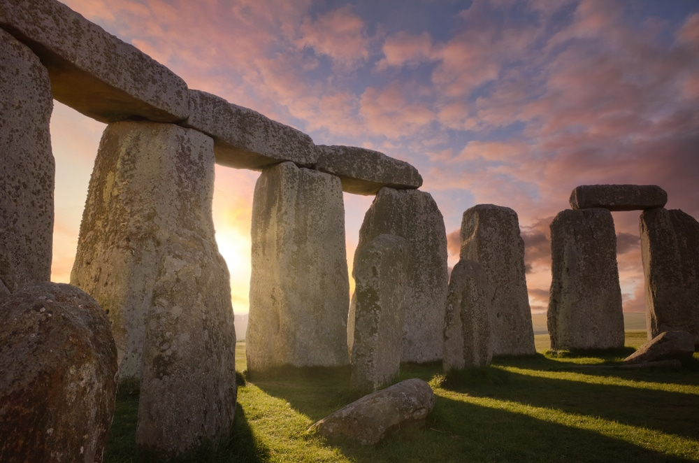 Winter solstace stone henge