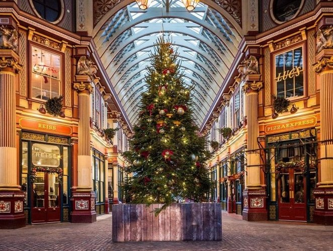 London-Christmas-trees festive